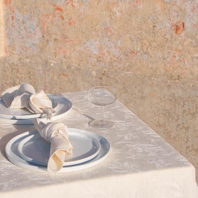 mughetto napkin white Tre Gioie